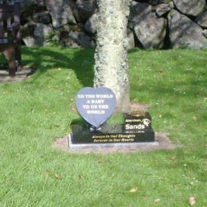 Memorial At Crematorium
