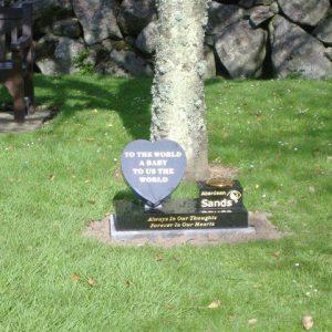 Memorial At Crematorium